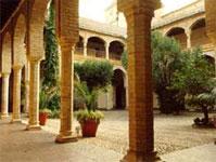Palacio de Congresos, Hospital de San Sebastián en vida del poeta. Allí estuvo y murió Ambrosio de Morales, cronista de Felipe II