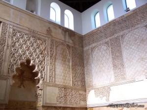 Sinagoga de Córdoba, aquí rezó Mahimónides.