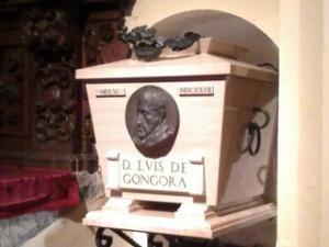 Aquí se hallan los restos de Góngora, en la Catedral de Córdoba.