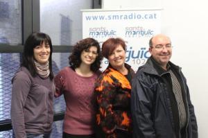 LUCÍA, CAROLINA, MAYTE Y JORDI