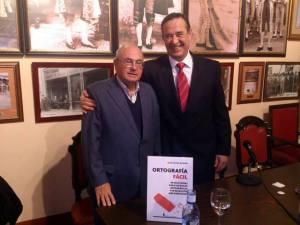Presentación de Ortografía fácil en el Real Círculo de la Amistad de Córdoba