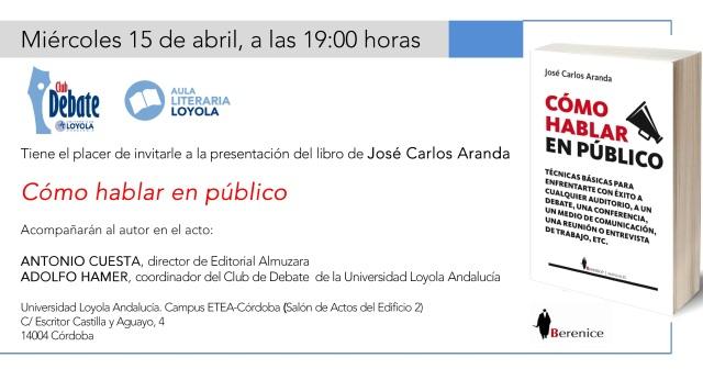 Invitación LoyolA 1